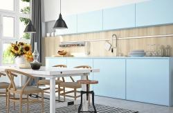 Küche aufpeppen mit Klebefolie