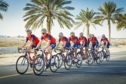 Team Bahrain Merida startet bei der Tour de France 2017