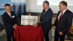 Kooperation mit Umweltministerium Sachsen/Zhongde Metal Group eröffnet Büro in Dresden