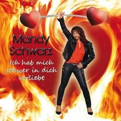 """Mandy Schwarz mit """"Ich hab mich schwer in Dich verliebt""""…"""