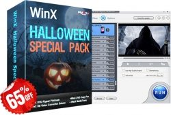 WinXDVD 65% Halloween Gutschein 2017 für DVD Video Software