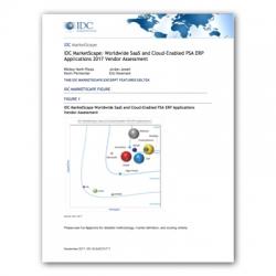 IDC MarketScape nennt Deltek einen Leader für PSA-ERP-Anwendungen
