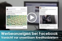 Gefährliche Werbung – unseriöse Kreditanbieter bei Facebook