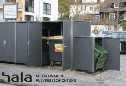 Neue Mülltonnenanlage sorgt für Sauberkeit in Marburger Mietshaus