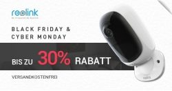 Reolink startet Black Friday & Cyber Monday Aktion: bis zu 30% Rabatt