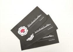 Gutscheine verschenken – Pralinen-Gutschein online kaufen