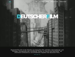"Relaunch der Website ""deutscherfilm.info"""