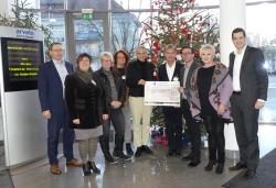 Weihnachtsspende von Arvato Financial Solutions: 15.500 Euro für benachteiligte Kinder,…