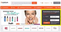 Tipp für die billigeren Einkäufe nicht nur für Weihnachten: KUPLIO.at