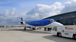 bmi fliegt ab 7. April auch samstags von Rostock nach…