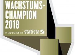 VIPCON ist Wachstumschampion 2018