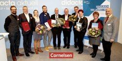 Dreimal Gold beim Schulbuch des Jahres für Cornelsen: Highlight Englisch, mathewerkstatt und mBook Geschichte als Sieger gekürt
