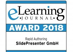 SlidePresenter gewinnt eLearning Award 2018