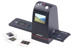Stand-Alone-Dia-Scanner und Negativscanner mit 9 Megapixel-Sensor und TFT-Display