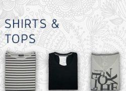Topaktuelle Shirts von CECILl und Street One