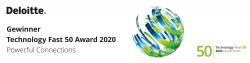 Identpro zum zweiten Mal in Folge mit Technology Fast 50 Award ausgezeichnet