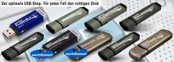 DSGVO: Sensible Daten auf BSI zertifizierten USB-Sticks