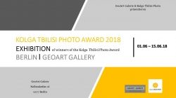 """KOLGA TBILISI PHOTO Award 2018 – Ausstellung in der ""GeoArt Galerie"" in Berlin"