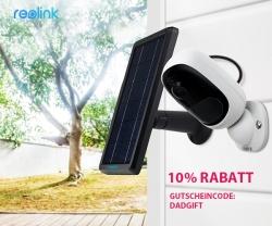 10% Rabatt zum Vatertag bei Reolink: Smarte Überwachungskamera für Super-Papa