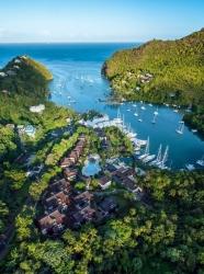 Saint Lucia bietet attraktive Angebote für Expedienten