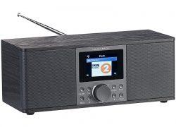 Stereo-Internetradio IRS-670 mit DAB+, FM, Bluetooth, Wecker, 32 Watt, schwarz