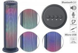 auvisio Mobiler Lautsprecher LSS-270 mit Bluetooth