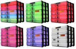 VarioColors Aufbewahrungsboxen jetzt in trendigen Modefarben