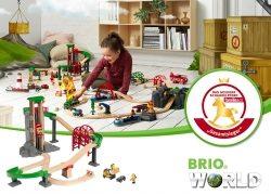 """BRIO gewinnt """"Das goldene Schaukelpferd"""" 2018"""