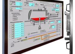 55″-Industrie-TFT-Großbildschirm mit Ganzglasfront