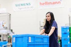 Hellmann Contract Logistics und Siemens AG verlängern Vertrag