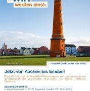 Fusionskampagne der Sparda-Bank West und Sparda-Bank Münster startet erfolgreich.