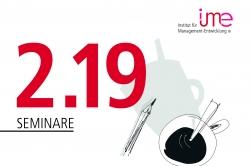 Bewährtes stärken und Neues integrieren: ime veröffentlicht Seminarprogramm 2019