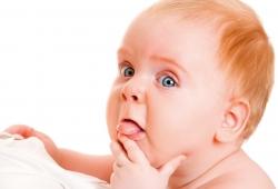 Wenn das Baby zahnt