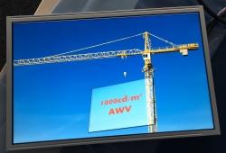 KYOCERA präsentiert neues 12,1″ WXGA TFT-LCD für Off Highway Anwendungen