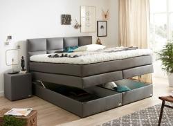 Doppelbett mit Stauraum in 180×200 in 147 Farben