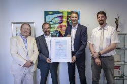 ISO-27001-Zertifikat für die GFOS mbH und die GFOS Technologieberatung GmbH
