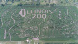 Illinois lädt ein, sich in den Themenlabyrinthen der Farmen zur 200-Jahr-Feier zu verlieren
