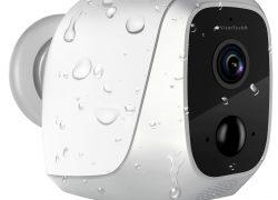 IP-HD-Überwachungskamera IPC-580 mit App, IP65, bis 6 Monate Batteriebetrieb