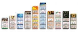3-Monatskalender mit individueller Werbefläche