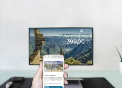 Neuheit: Digital Signage feat. Beacon-Technologie