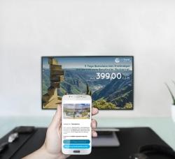 Neuheit: Digital Signage feat. Beacon-Technologie