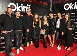 Das Coiffeur Team Laurentius war Teil des Grand Openings des Okinii Bonn