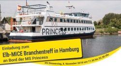 Eine frische Brise MICE-Kontakte am 8.11.2018 in Hamburg