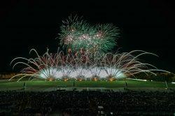 Erfolg für Deutschland bei der Pyronale 2018: Potsdamer Feuerwerk erringt Tagessieg und bringt den Silberpokal nach Berlin