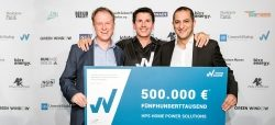 500.000 EUR für das nachhaltigste Startup Deutschlands: Home Power Solutions…