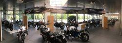 Almabtrieb im BMW Motorrad Zentrum Kassel