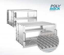 POLYRACK-Kartenführungen erfüllen brandschutztechnische Anforderungen nach DIN EN 45545-2