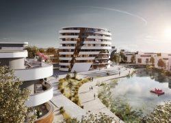 Strenger Gruppe entwickelt in Dornstadt ein Quartier mit See und 205 Eigenheimen