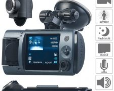 NavGear Full-HD-Dashcam MDV-1915.dual
