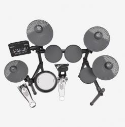 Yamaha erweitert E-Drums-Portfolio um DTX482K mit 3-Zonen-Silikon-Snare und zusätzlichem Becken-Pad